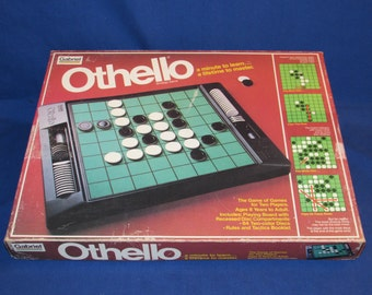 OTHELLO GAME by GABRIEL 1981 A Minute to Learn A Lifetime to Master