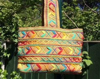 Vintage 1970's Summer Bag