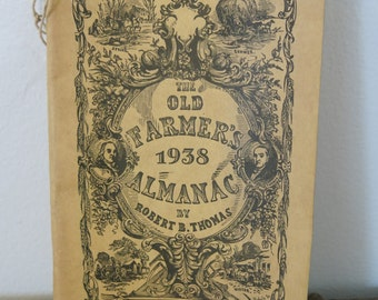 1938 First Addition Farmers Almanac