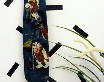 Vintage 90's The Flintstones Tie