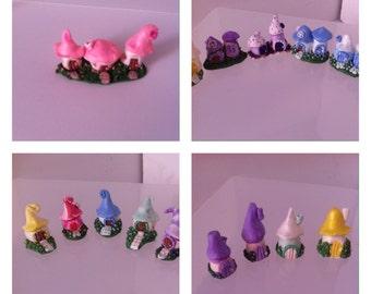 Miniature Handmade OOAK Fairy Houses