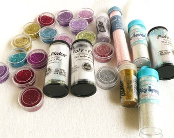 Glitters for inclusions--huge selection