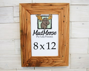 8x12 reclaimed cedar chunky x 3 picture frame
