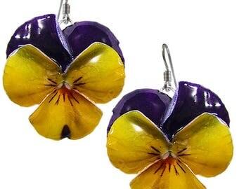 Orecchini Violette