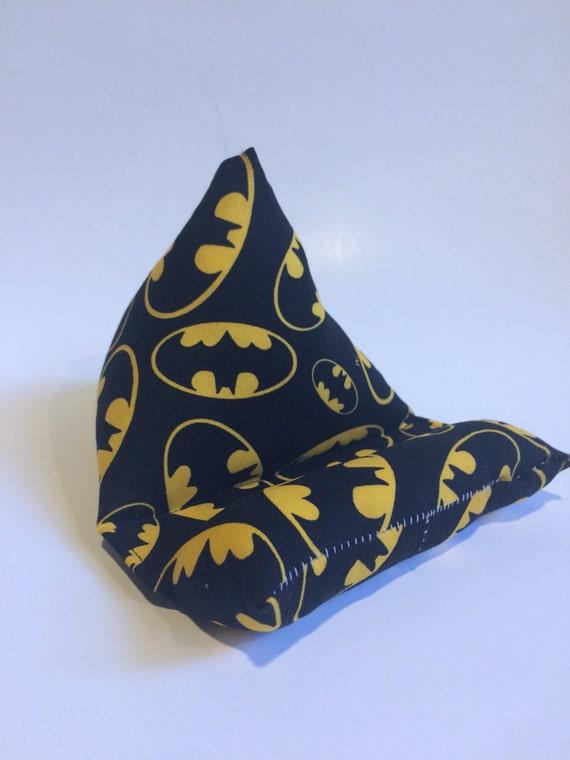 Cell Phone Stand, Batman bat symbol fabric electronics stand, cell phone stand, tablet stand, iPad stand
