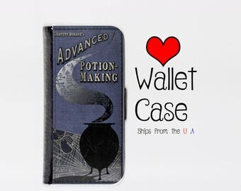 Harry Potter Book of Potions Samsung Galaxy S7 Edge case - Harry Potter Book of Potions Samsung Galaxy S7 Edge wallet - Galaxy S7 Edge Case