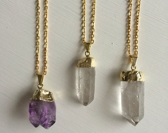 Crystal visions necklace