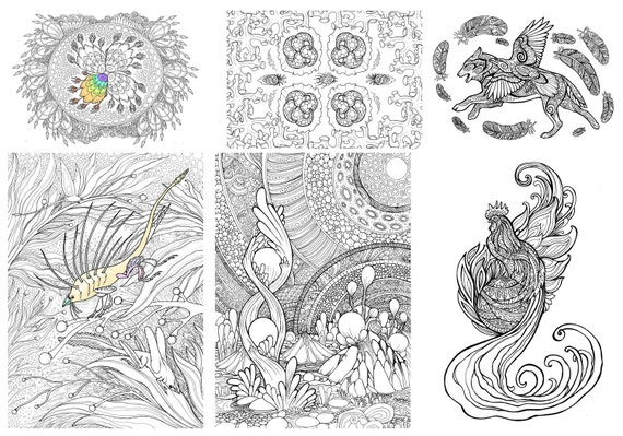 Printable Coloring Pages Zen : 16 adult coloring pages doodle printable colouring zen from