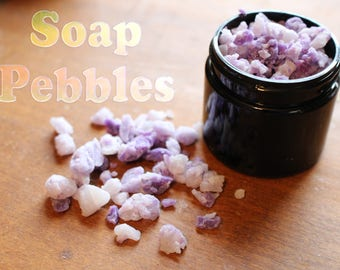Soap Pebbles Natural Travel Soap