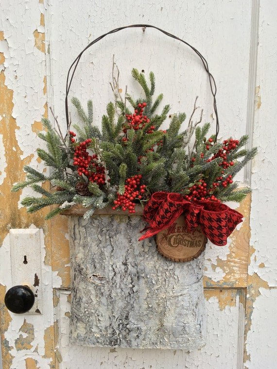 Miraculous Rustic Christmas Wreath For Front Door Christmas Rustic Door Handles Collection Olytizonderlifede