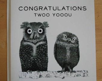 Congratulations twoo yooou card