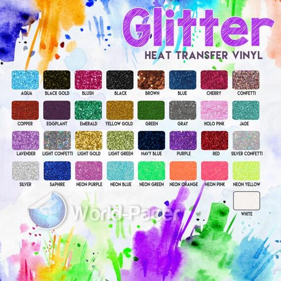 Glitter Htv 12x20 Sheets Glitter Htv Sheets Glitter Sheets