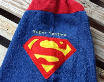 Superman Hooded Towel