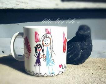 Kids Artwork Custom Mug