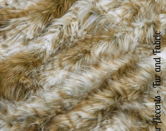 Faux Fur Light Brown Wild Feather Cat - Fabric - Shag, Crafts, Sewing, Baby & Pet  Photo Props