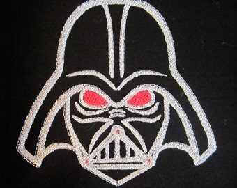 Star Wars Darth Vader Mask Machine Embroidery Design