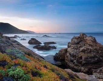 Big Sur Photography, California Art, Coastal Decor, Photos of Ocean, West Coast Print, Pacific Ocean Art, Big Sur Print, West Coast Art