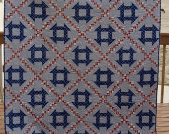 A Dash of Chains - a Lap Sized Quilt pattern