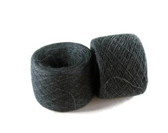 ASPHALT 100% Merino 2455 yards recycled yarn