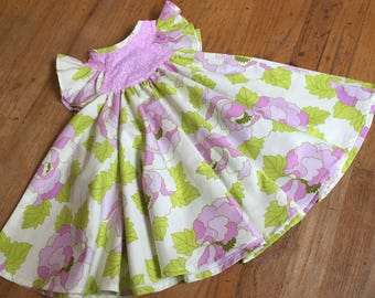 Girls spring dress, toddler spring dress, girls Easter dress