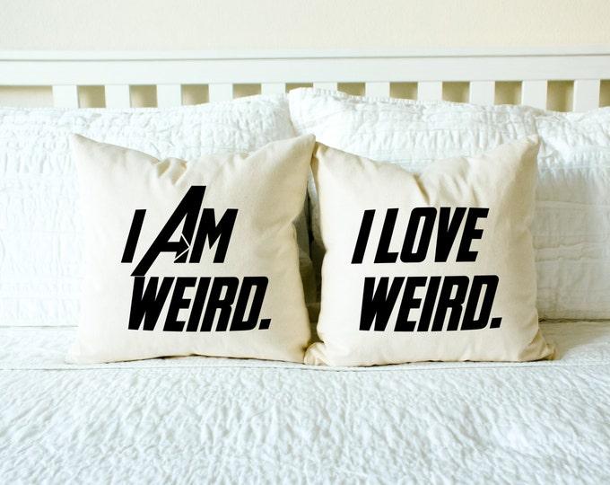 I Am Weird and I Love Weird Set - 5 Fandom Styles