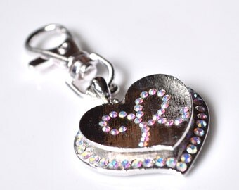 Hearts keychain