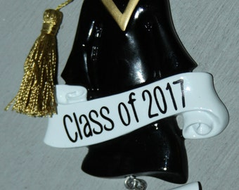Class of personalized Graduation ornament with name