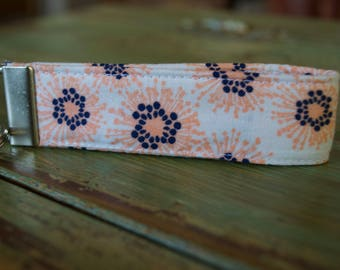 Pink Flowers Key Fob // Key Chain // Key Wristlet // Pink Floral // Gift for Teachers and Moms