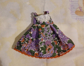 Pullip purple floral JSK dress