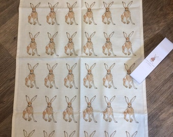Harry Hare - Cotton Tea Towel