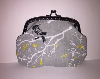 Large Birds Coin Purse