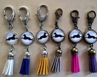 UniQ Irish Wolfhound Tassel / keychain