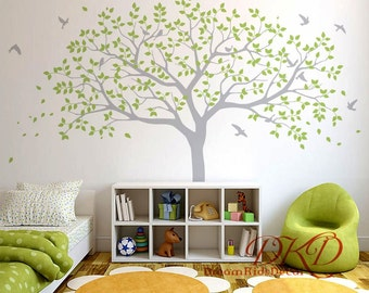 Family Tree Wall Decal, Tree Wall Decals For Nursery, Vinyl Sticker Wall Art , Part 50