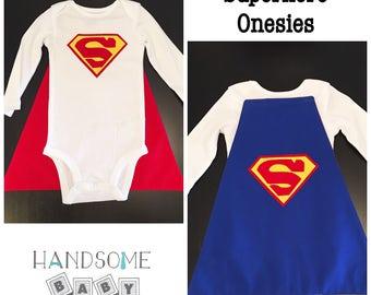 Superhero Onesie with Cape