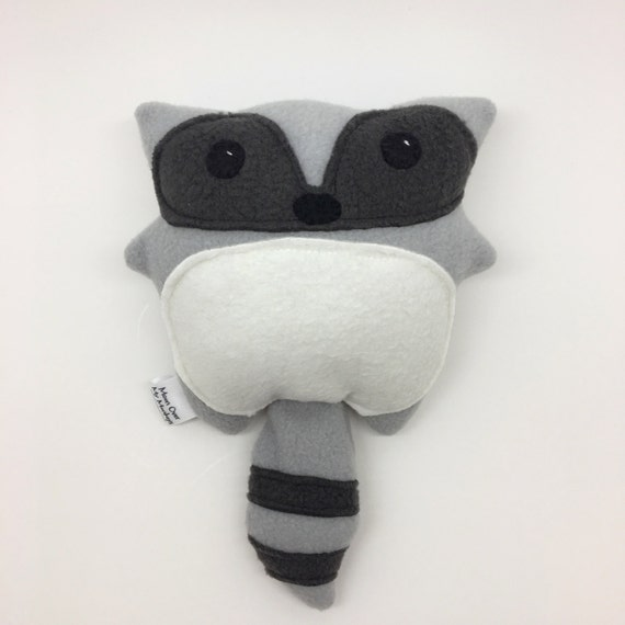 Handmade Raccoon Softie