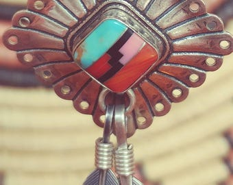 Southwest Style QT Sterling  Earrings