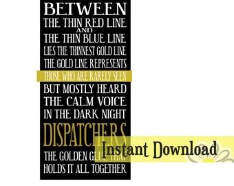 Dispatchers - Digital Download - SVG/JPG/DXF