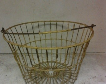 Coated egg basket