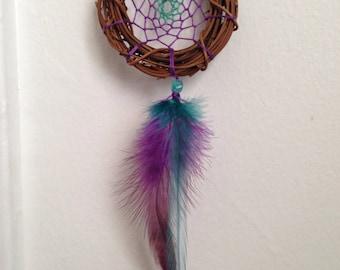 Purple Seafoam Dreamcatcher