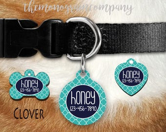 DogTag-Personalized Dog or Cat ID Tag -Personalized Pet Tag- Dog or Cat Identification Tag-Pet Gift-Design Your Own-Personalized Gift