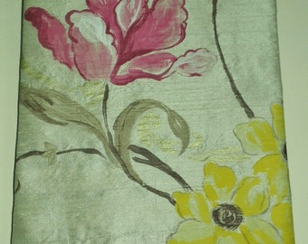 Designers Guild Silk Whitewell Fabric Art Picture