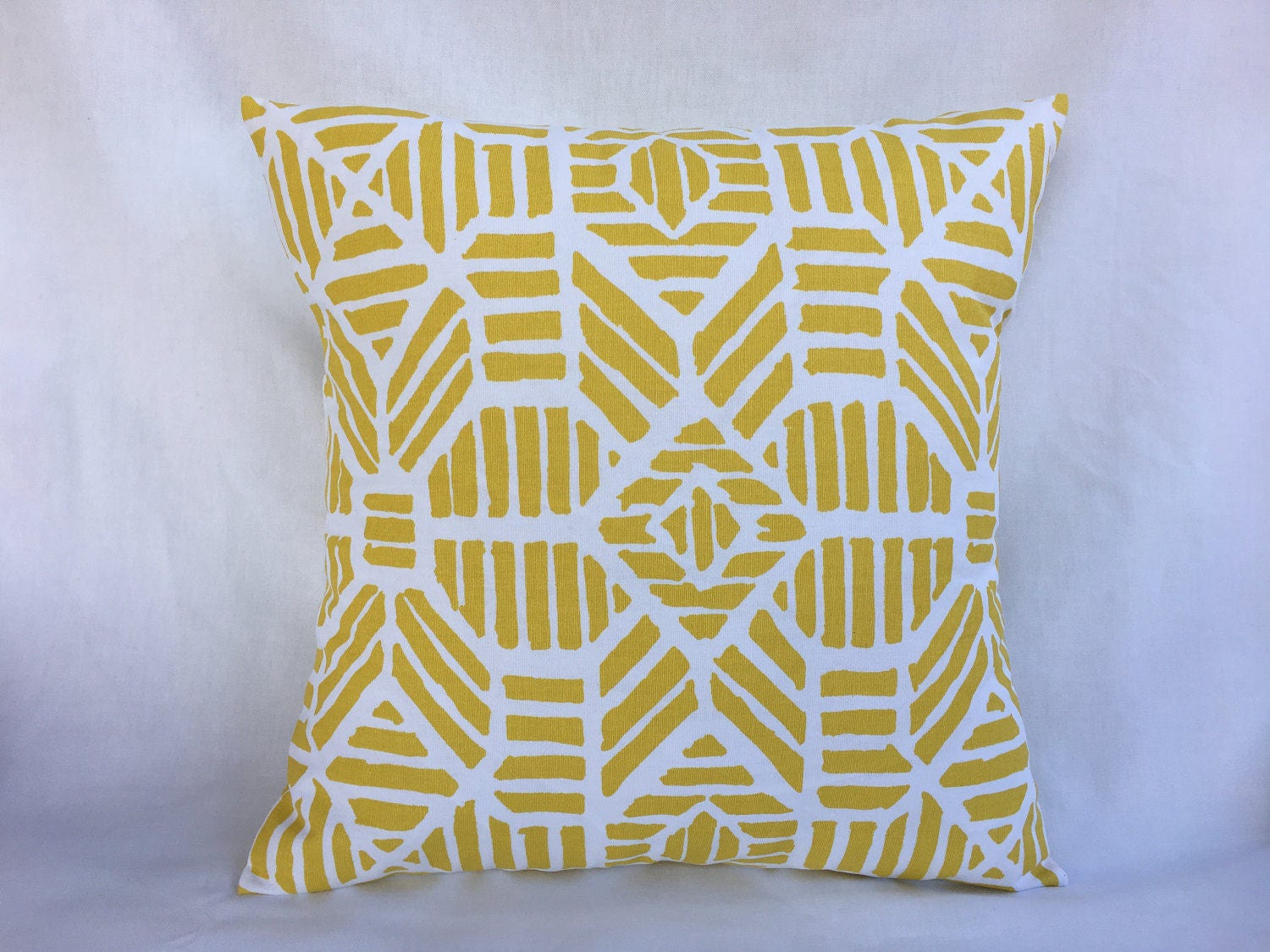 Pillow Covers 18x18 Yellow Throw Pillow Cover Yellow