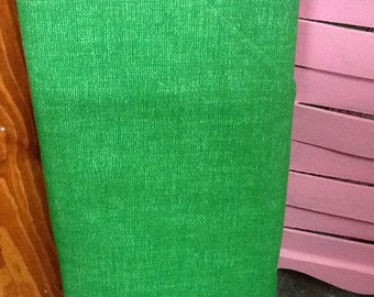 Kelley green  Cool Weave Fabric by the Yard