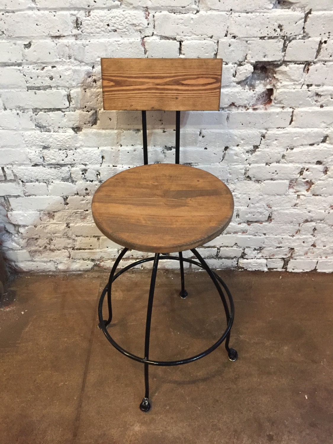 Industrial Kitchen Table Furniture Industrial Stool Etsy