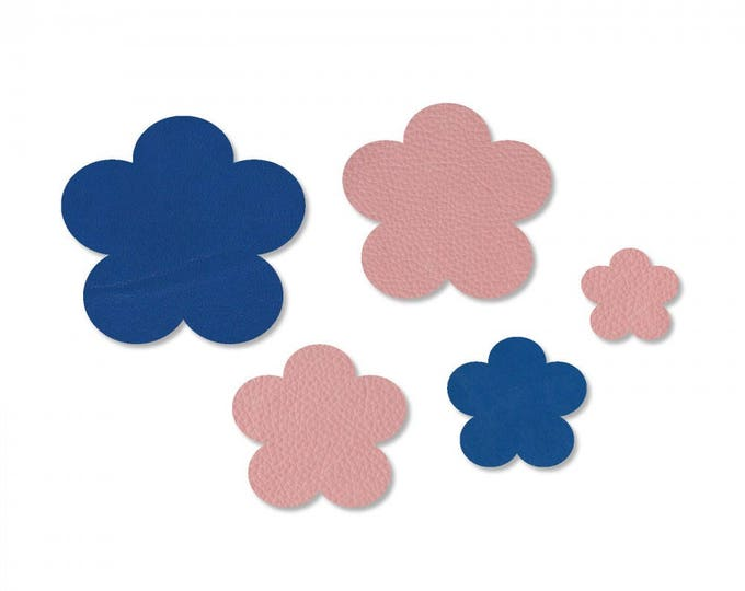 Sizzix Jewelry Making Movers & Shapers Magnetic Die Set 5PK - Wildflower by Jill MacKay 660657