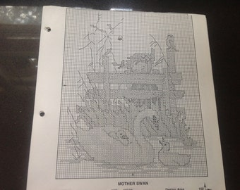 Patterns for cross stitch and needlepoint (5 sheets)