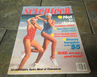 May 1983 SEVENTEEN MAGAZINE ; Lots of good  1983 articles and ads
