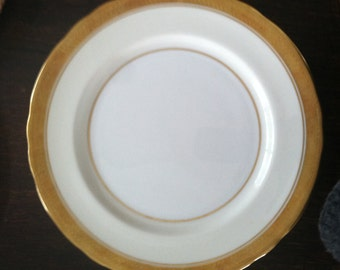 Six Aynsley Dinner Plates