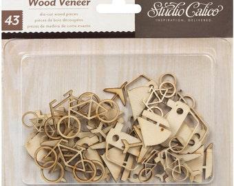 Studio Calico Wood Veneer Shapes Transportation