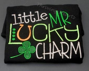Little MR Lucky Charm. St. Patricks day shirt!
